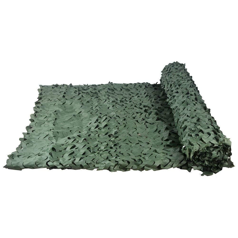 迷彩ネットは遮光ネットオーニングターポリン 日焼け止 5mx3mカモフラージュネット、グリーンカモネッティング、軍用シェードに適した補強ネットを追加軍事射撃射撃場キャンプ屋外野外隠し車ガーデン装飾釣りテント、複数のサイズがあります 利用できる多数のサイズ (Size : 4*10M(13.1*32.8ft))  4*10M(13.1*32.8ft)