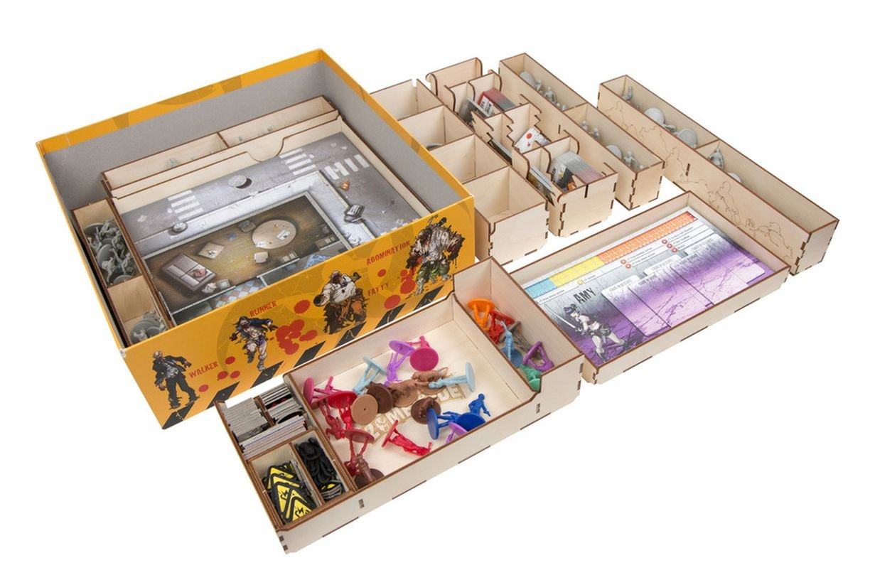 The Broken Token Box Organizer for Zombicide Season 1