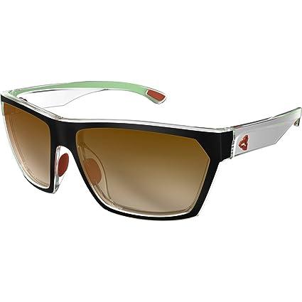 48e10b882b5 Ryders Eyewear Loops Standard Sunglasses - 2-Tone (BLACK-SILVER-GREEN