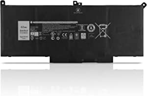YXKC New F3YGT Replacement Laptop Battery Compatible with Dell Latitude E7280 E7480 2X39G Series Notebook 7.6V 60Wh