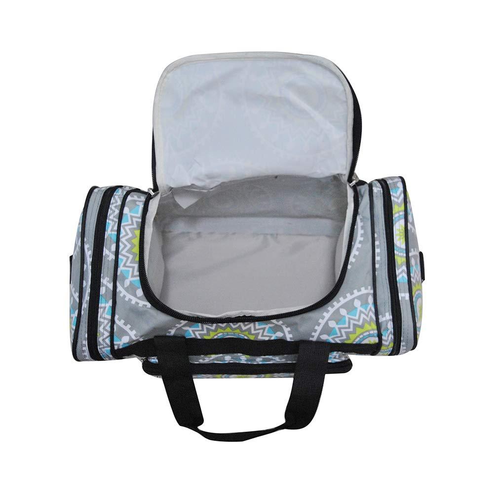 Southern Aqua Serape NGIL Canvas 17 Carry on Duffle Bag