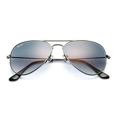 c828977fdf93 Pro Acme Aviator Sunglasses for Men Women 100% Glass Lens UV400 Protection