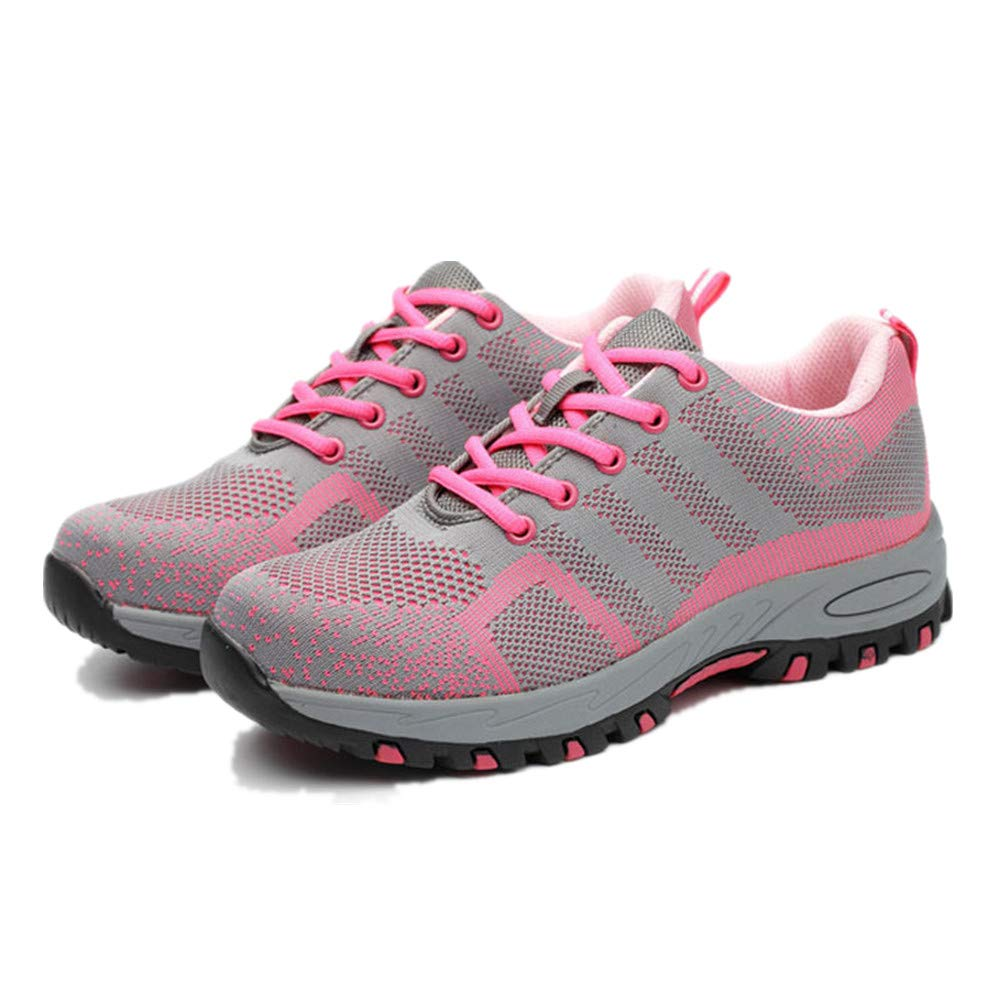 coollight Women Waterproof Hiking Shoes Anti-Skid Walking Sneaker Running Trekking Outdoor