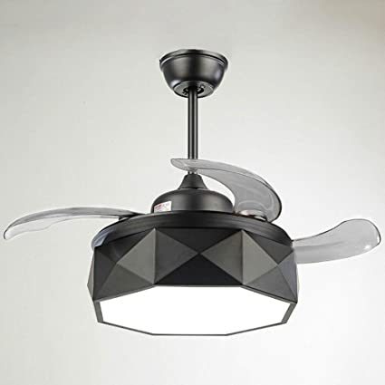 Genial Huston Fan 42 Inch Modern Style Retractable Ceiling Fans Light With 4  Blades House Ceiling Fans