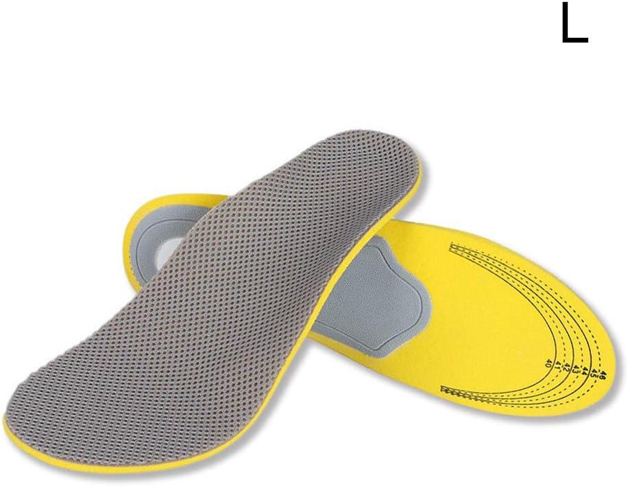 lzndeal 1 par de Plantillas ortopédicas Plantillas de Soporte de Arco ortopédico de pie Plano 3D Almohadillas para Zapatos High Arch