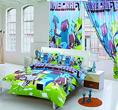 JessyHome Kids Minecraft Sheet Set in Full and Twin