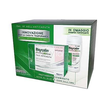 bioscalin physiogenina - 10 Ampollas + Champú Anticaída ...