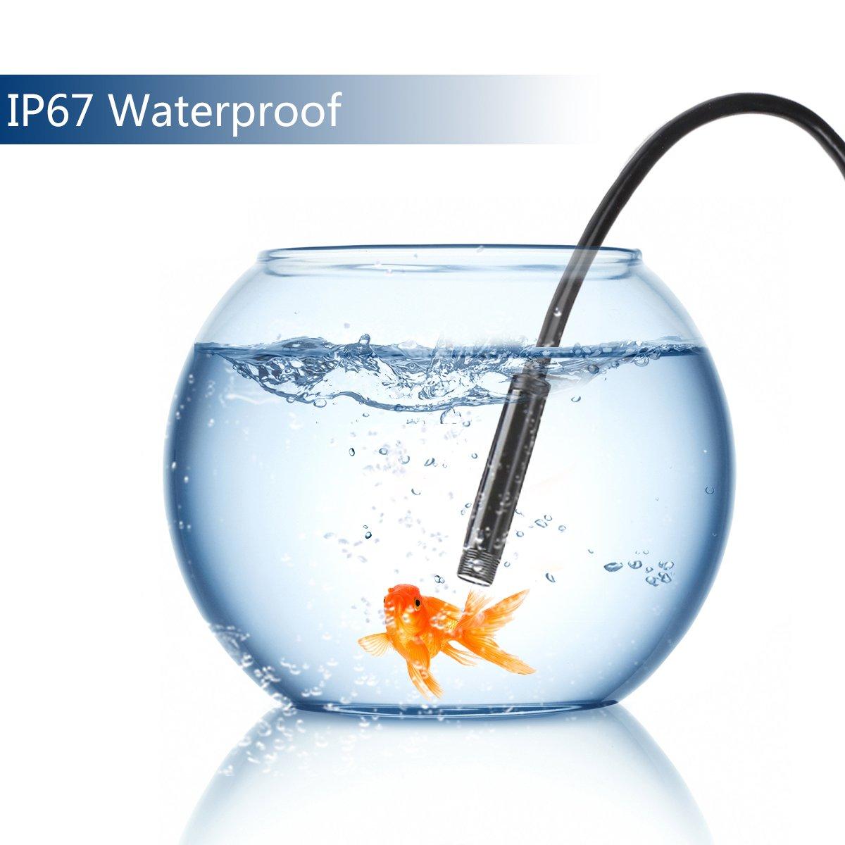Windows PC und MacBook 5,5mm Android USB Endoskop SHEKAR 3,5M 3-in-1 USB//Micro USB//Type-C Boreskop Inspektionskamera Wasserdicht f/ür Android Phone//Tablet