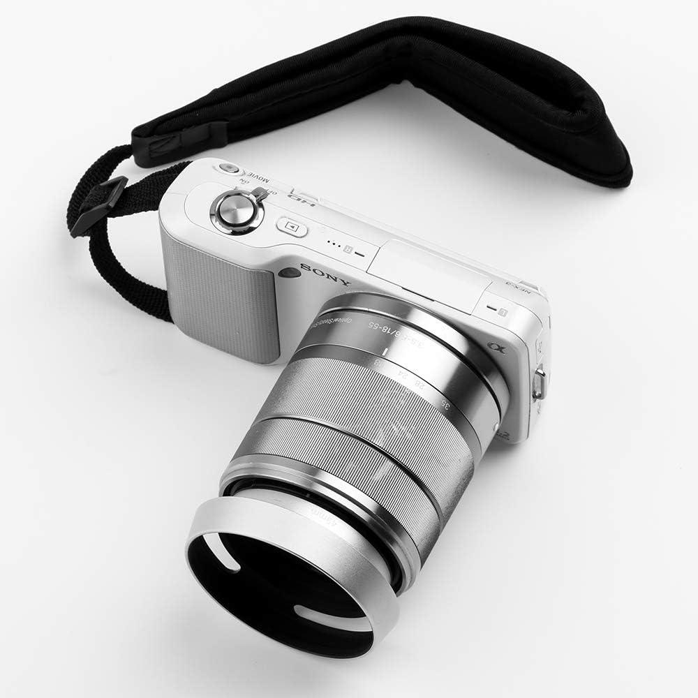 67mm Gegenlichtblende,Fotover Universal Reversibel Tulip Blume Sonnenblende Streulichtblende mit Objektivdeckel Kompatibel mit Canon Nikon Sony Pentax Olympus Fuji Kamera