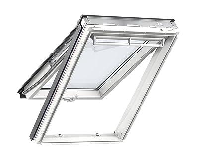 Häufig Velux GPU Klapp-Schwingfenster aus Kunststoff (55 x 118): Amazon SO31