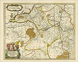 Historische Karte Das Furstentum Anhalt Und Das Erzbistums