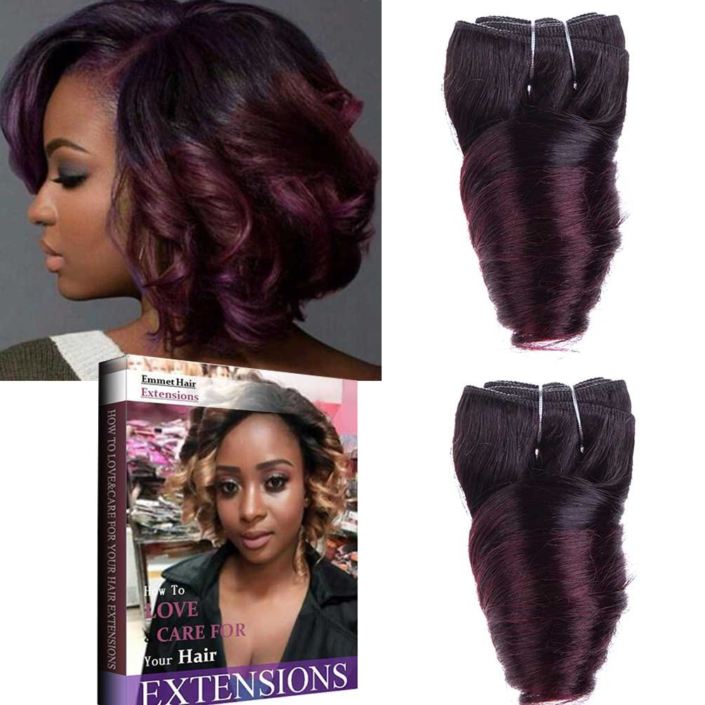Amazon Emmet 8inch Brazilian Loose Wave Spring Curly Hair