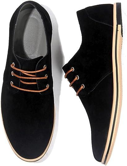 NXY de los Hombres Casual Cuero Oxford Zapatos Encajes Brogues Pisos Formal Zapatos de Negocios