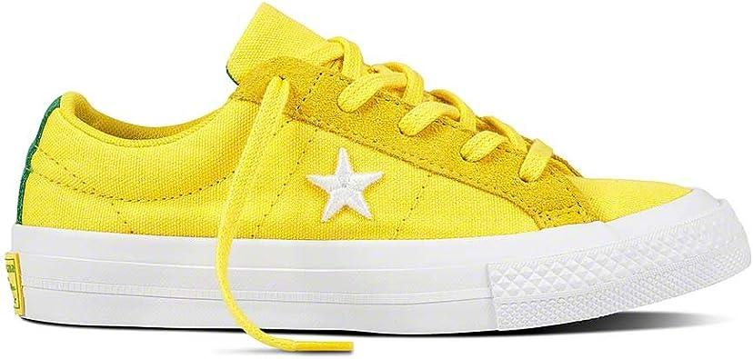 chaussure converse jaune du 33