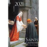 2021 Saints Calendar & Planner: Spiral Bound