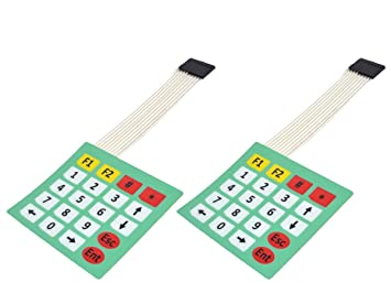 2 x 20 Key Matrix Array Keypad - Adhesive Backing - for