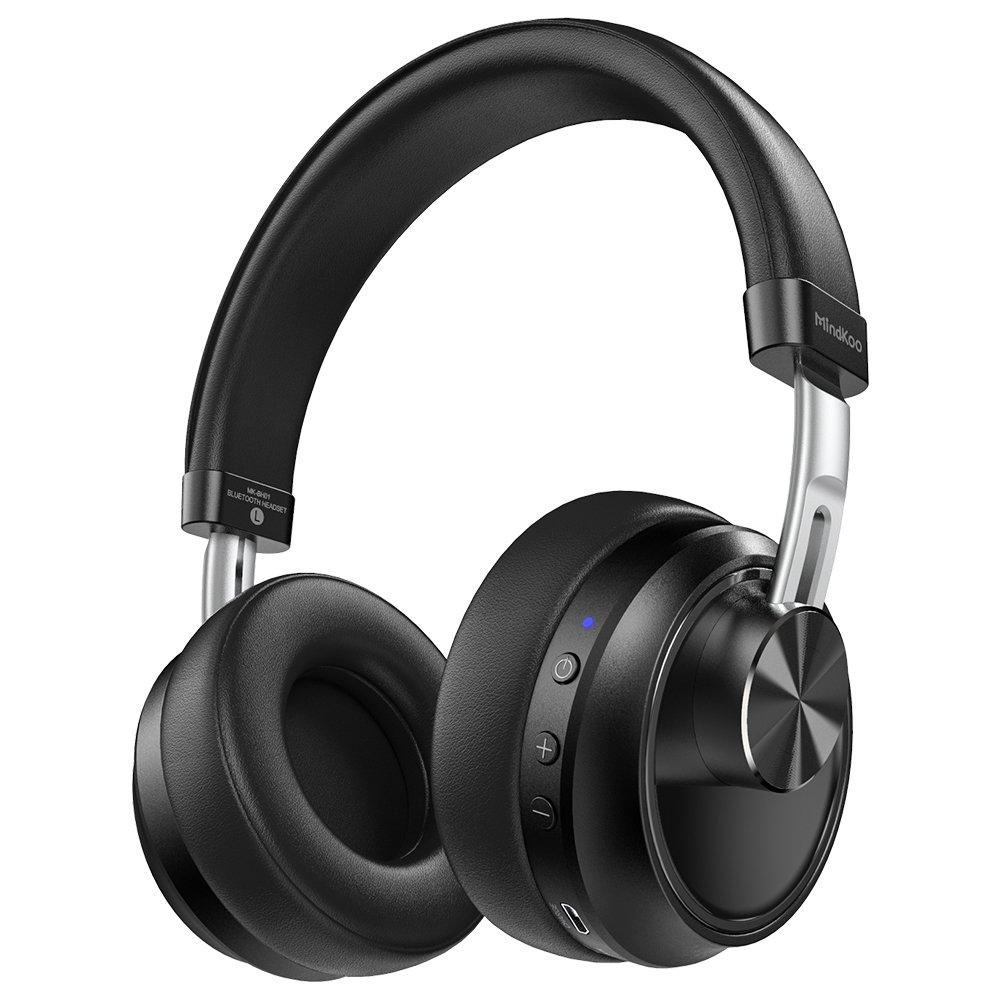 Bluetooth Headphones, MindKoo Bluetooth 4.1 Over-Ear Headphone ...