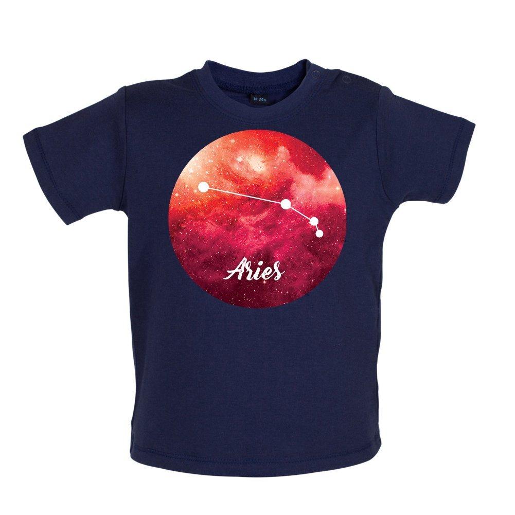 3-24 Months Dressdown Aries Sign Baby//Toddler T-Shirt
