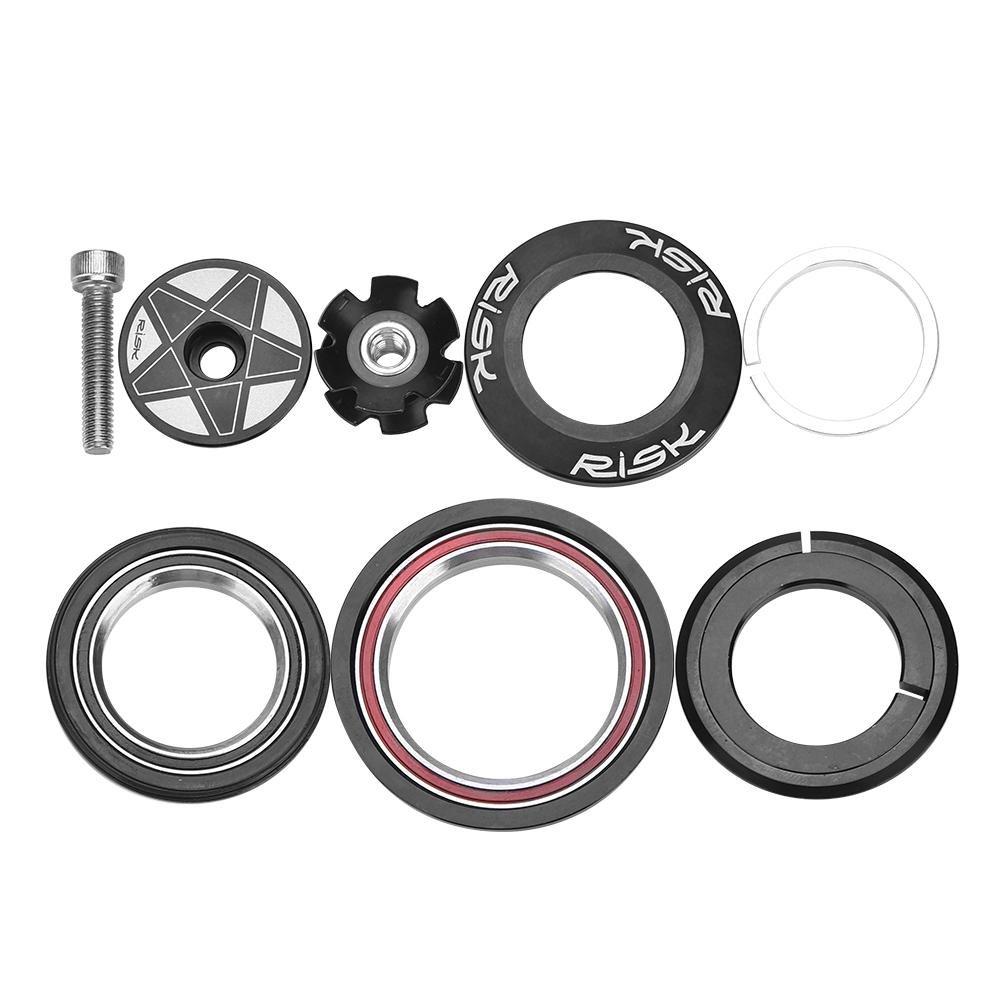 Alomejor Fahrrad-Headset Aluminiumlegierung Versiegelt Fahrradlager Fahrradzubeh/ör f/ür 44-55mm 44-56mm