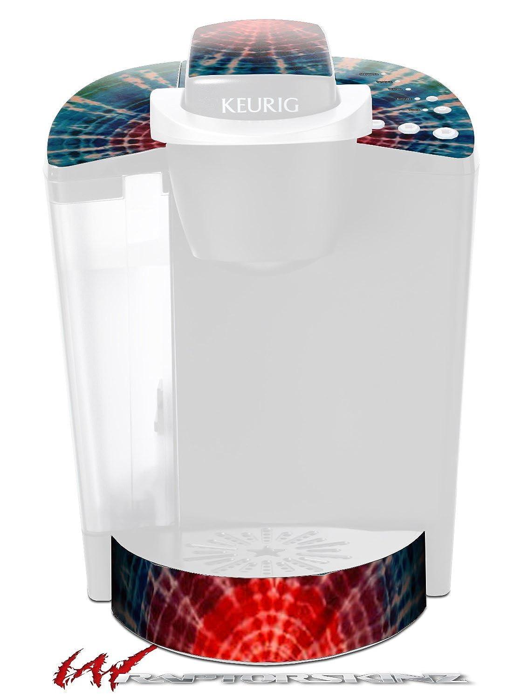 Tie Dye Bulls Eye 100 – デカールスタイルビニールスキンFits Keurig k40 Eliteコーヒーメーカー( Keurig Not Included )   B018A481HG