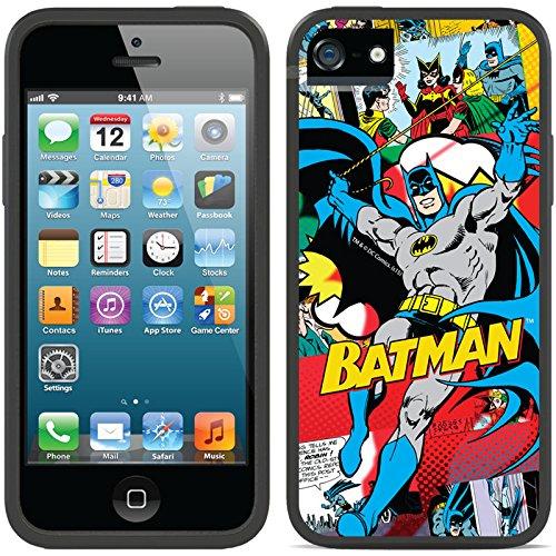 Coveroo Apple iPhone SE/5/5s Black Switchback Case with Batman Comics, Full-Color Design