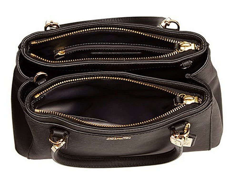 5f2c11f39808e COACH 30402 Madison Mini Christie Carryall Shoulderbag in Light Gold Black   Handbags  Amazon.com