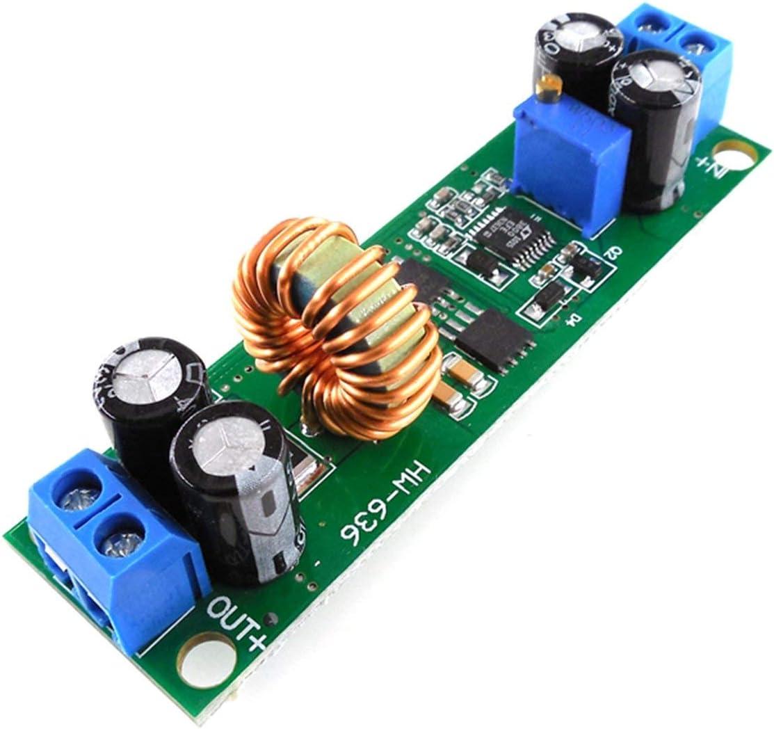 Ballylelly HW636 Convertidor de Voltaje 60V 48V 36V 24V a 19V 12V 9V 5V 3V Fuente de alimentación Reductora Ajustable Módulo regulador de estabilizador Reductor