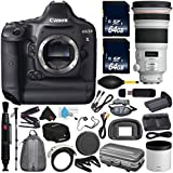 6Ave Canon EOS-1D X DSLR Camera International version (No Warranty) + Canon EF 300mm f/2.8L IS II USM Lens + Battery Grip + LP-E6N Replacement Lithium Ion Battery Bundle