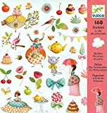Djeco DJ08884 Stickers-Princess Tea Party Novelty