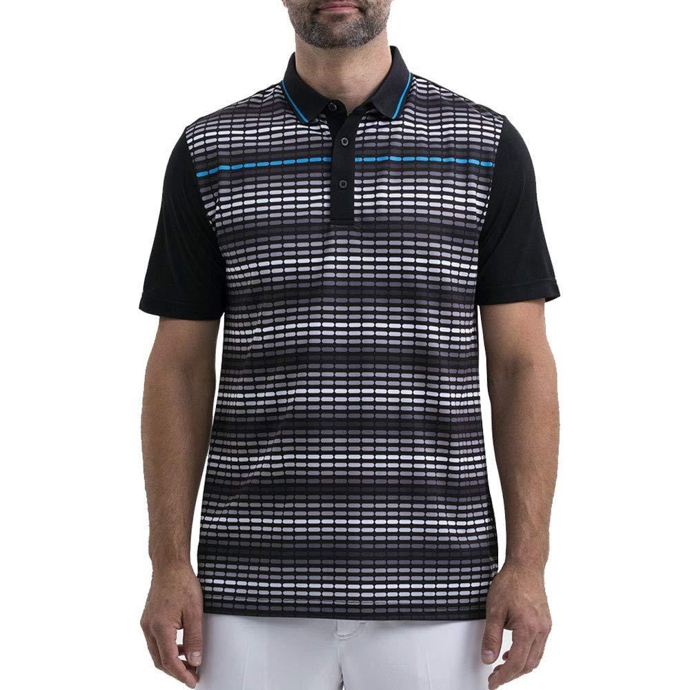 Sligo Bradley ゴルフポロシャツ 2018 ブラック L   B07HRZYXDD