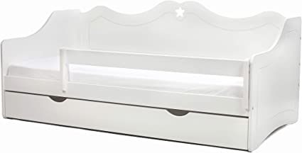 LULU MÖBEL - Cuna completa León con colchón 80 x 160 cm ...