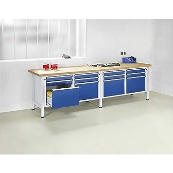 Gut gemocht ANKE Werkbank, extrabreit, 8 Schubladen, Höhe 890 mm SS63