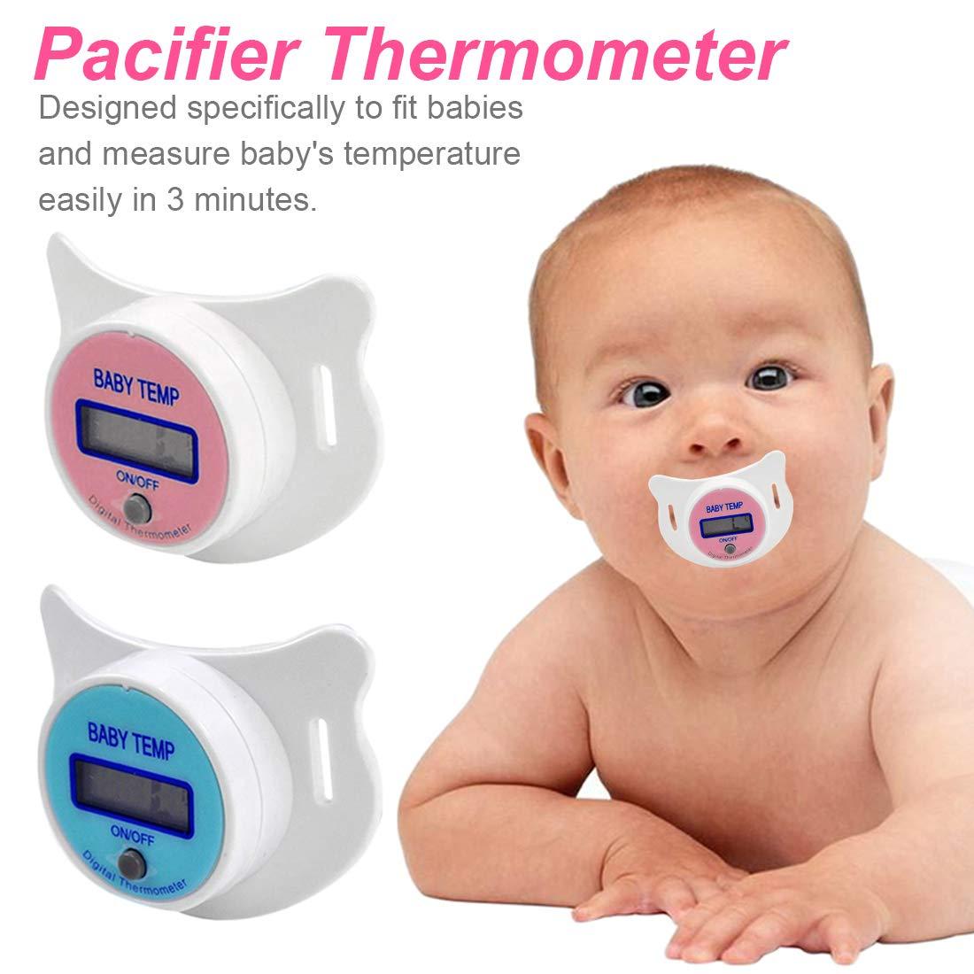 Schnullerthermometer orales Temperatur/überwachungswerkzeug Baby Kind Schnuller elektronisches Fieberthermometer