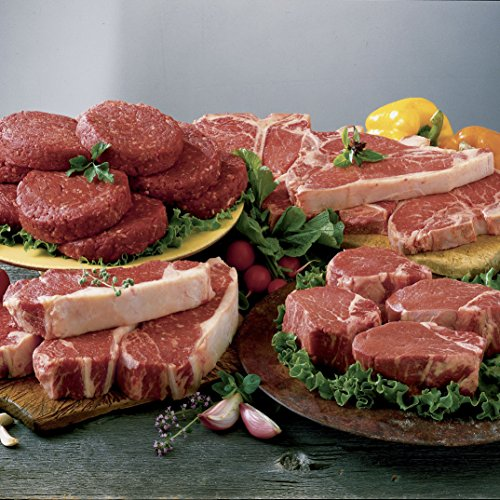 The Swiss Colony King-Size Steaks & Burgers Assortment 2