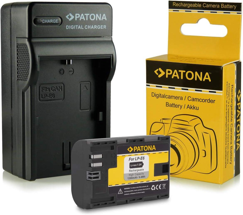 Cargador + Batería LP-E6 para Canon EOS 5D Mark II / 5D Mark III | EOS 7D | EOS 60D / 60Da: Amazon.es: Electrónica