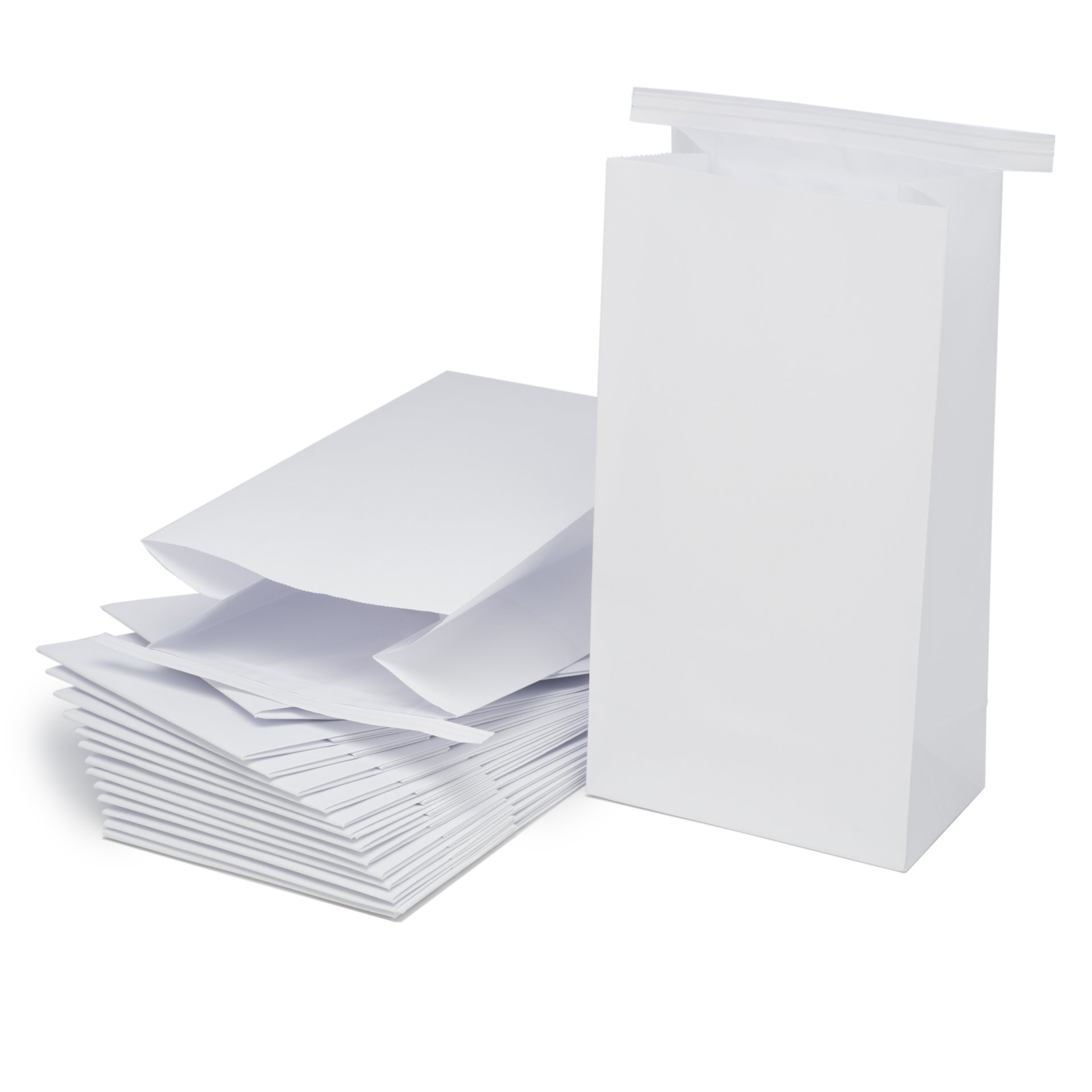Classic White Vomit/Barf Bags - Travel Motion & Morning Sickness Bags (25/Pk) by The Barf Boutique (Image #3)
