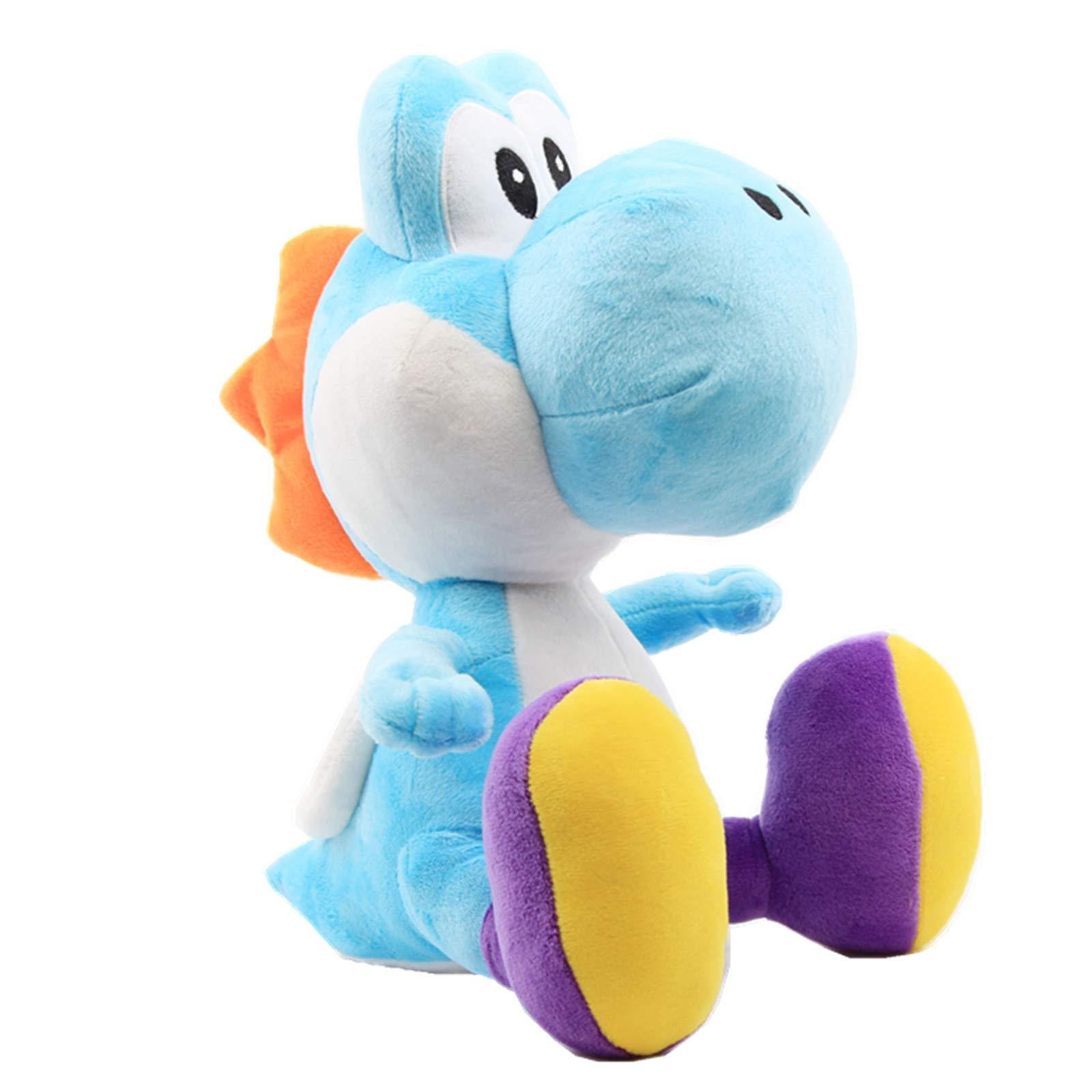 UiUoU Super Mario Bros. 12'' Light Blue Yoshi Stuffed Plush by UiUoU