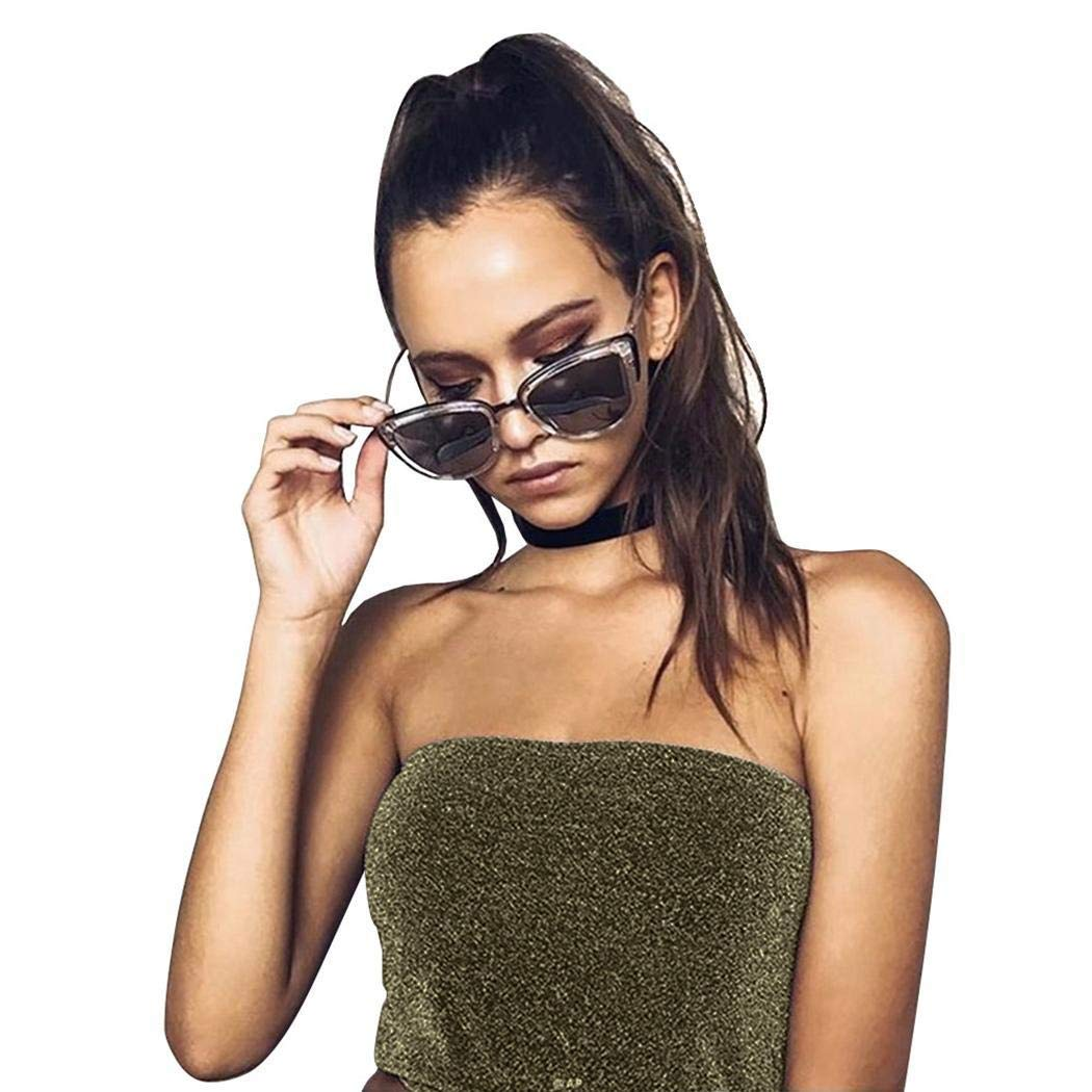 d5cc54f2595 comfi1 Women Summer Strapless Off Shoulder Tanks Top Sexy Sparkling Bandeau Tube  Crop Tops at Amazon Women s Clothing store