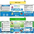 100% Pure Forskolin Extract with 40% Standardized Forskolin, 90 Capsules, 300 mg, Appetite Suppressant, MAX Strength Belly Fat Burner, Carb Blocker, Natural Weight Loss Supplement