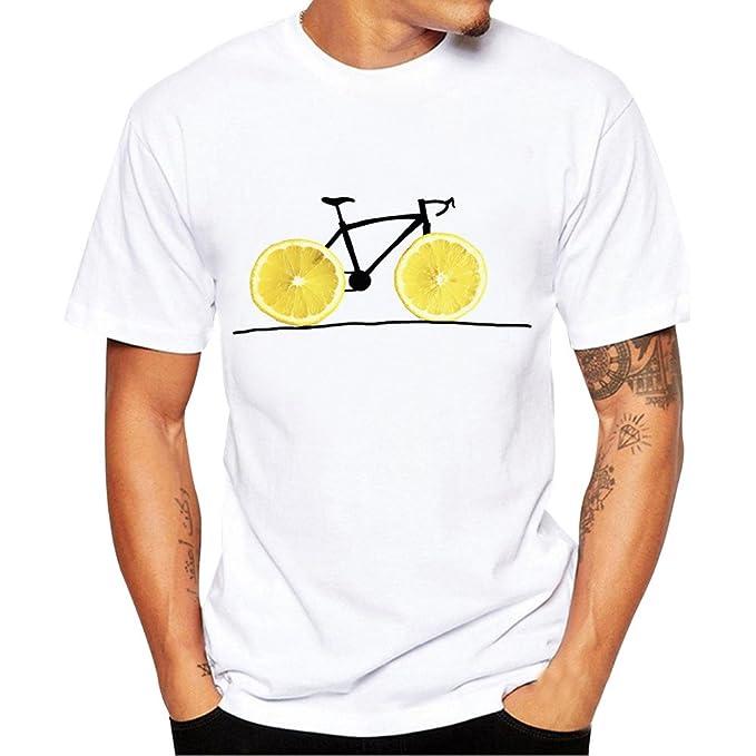 Gusspower Camisetas Hombre Manga Corta, Hombres Impresión Camisetas con Manga Corta Baratas Camisa Blusa Camisetas Hombre Originales Divertidas Ropa de ...