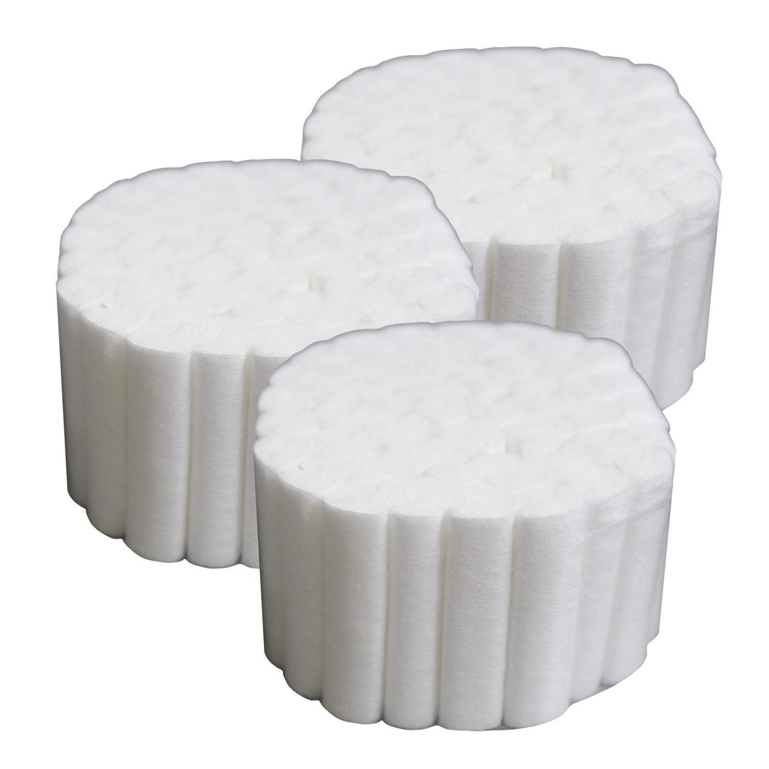 Dental Cotton Rolls #2 Medium - 1.5'' Non Sterile 100% High Absorbent Cotton, Pack of 2,000 by Vivid