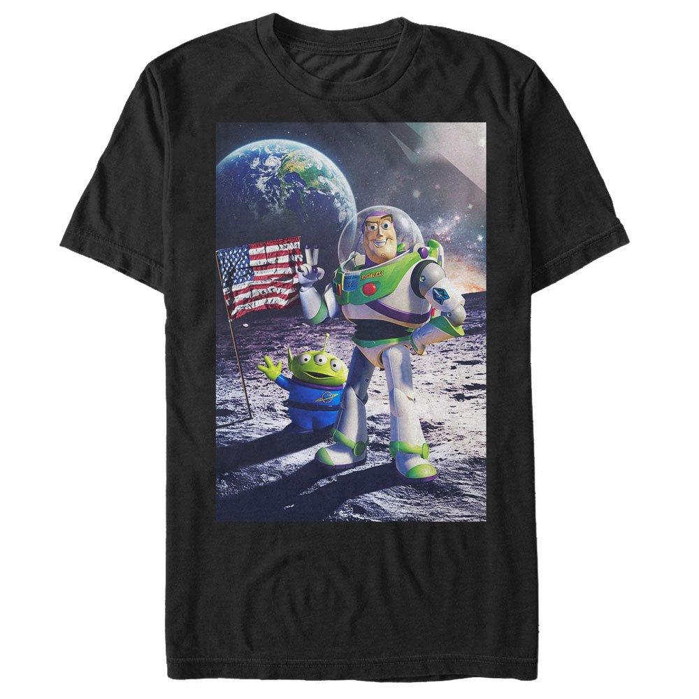 Toy Story S Buzz Lightyear Moon Landing Tshirt