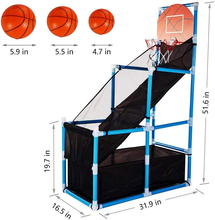 Amazon.com: Juguete de baloncesto para niños, aros de ...