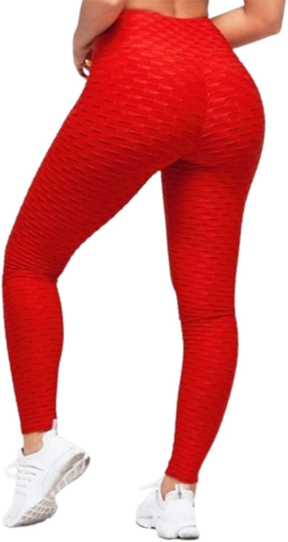 CORAFRITZ Pantalones de yoga ajustados para mujer, cintura alta, levantamiento de glúteos, estiramiento para control de barriga, entrenamiento y correr