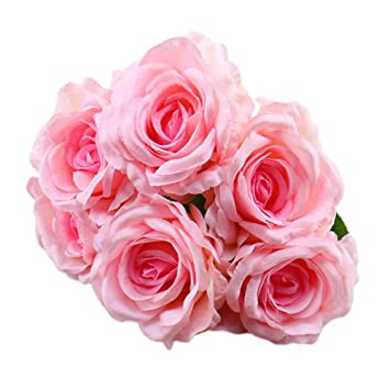 Amazon Artificial Flowers Longay 1 Bouquet Vintage Artificial