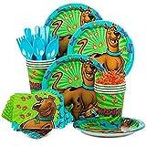 Costume SuperCenter Scooby Doo Birthday Party Standard Tableware Kit Serves 8