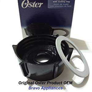 OSTER JAR BASE WITH SEALING RING (ORGINAL REPLACEMENT KIT)