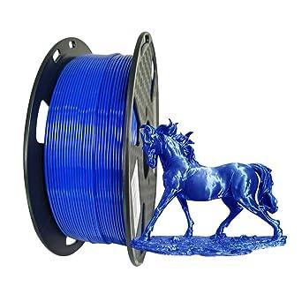 Impresora 3D PETG Filamento 1.75 mm 1 kg Carrete Azul brillante ...