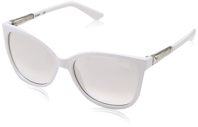 Guess Sun GU7456 21C-58-17-135 Gafas de Sol, Blanco (White ...