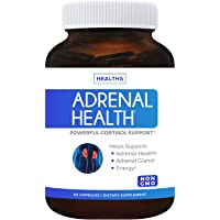 Adrenal Support & Cortisol Manager (Non-GMO) Powerful Adrenal Health with L-Tyrosine...